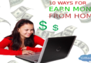 10 Best ways to work from home using Internet